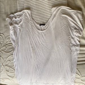 ribbed white top